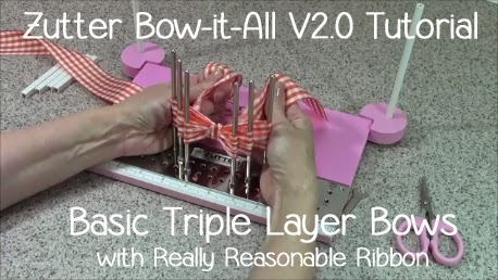 Bow-it-All Tutorial * Basic Triple Layer Bows