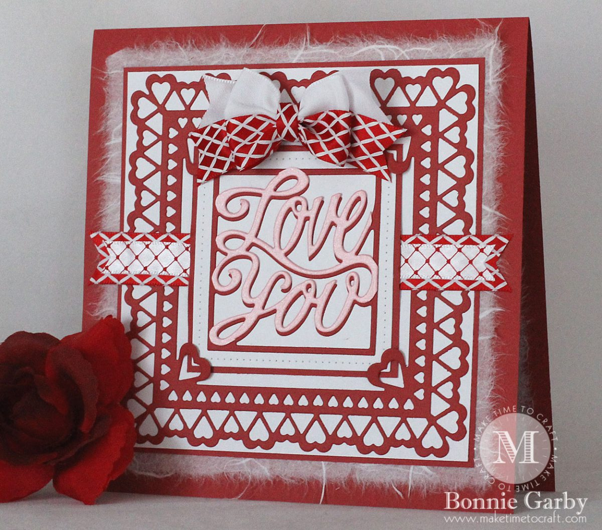 New Red and/or Pink Challenge this week at Really Reasonable Ribbon