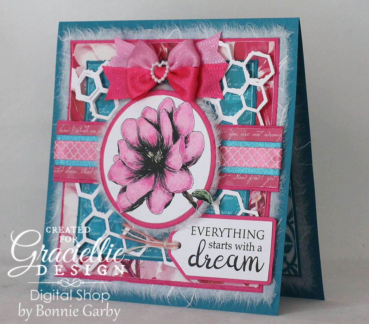 Graciellie Design August Blog Hop