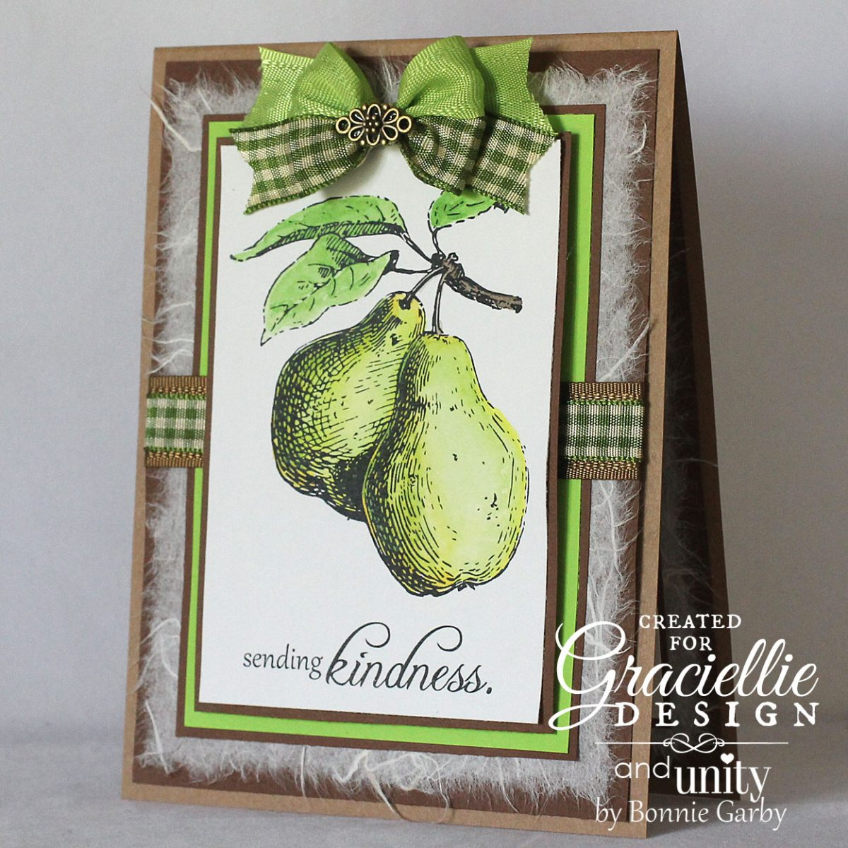 Inspiration Blog Hop with Graciellie Design and Unity Stamp Company