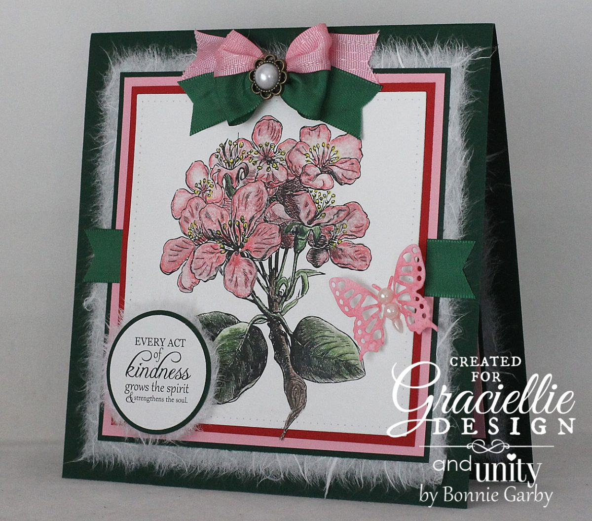 Blog Hopping with Graciellie Design and Unity Stamp Company
