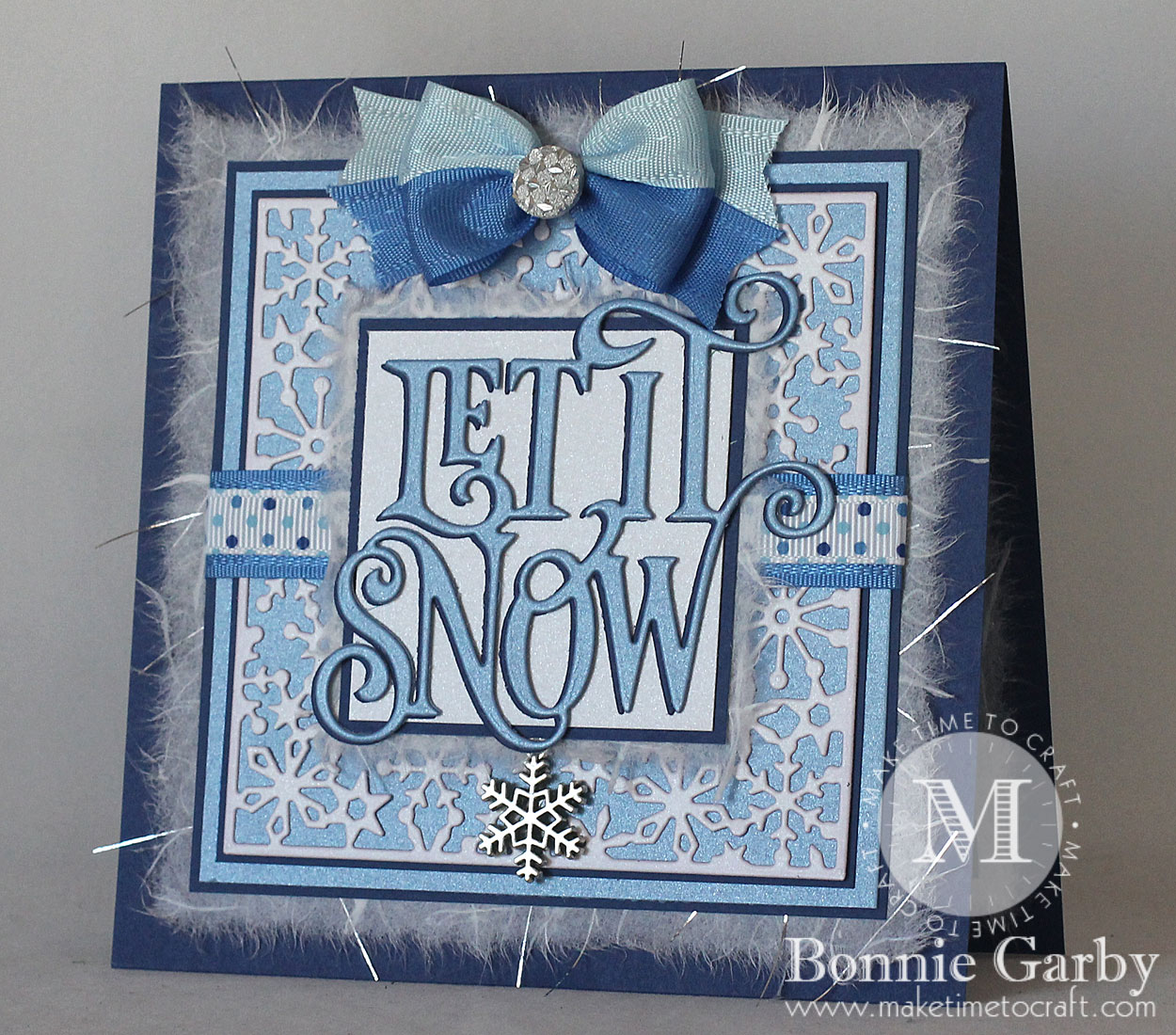 Let it Snow Winter Themed Card