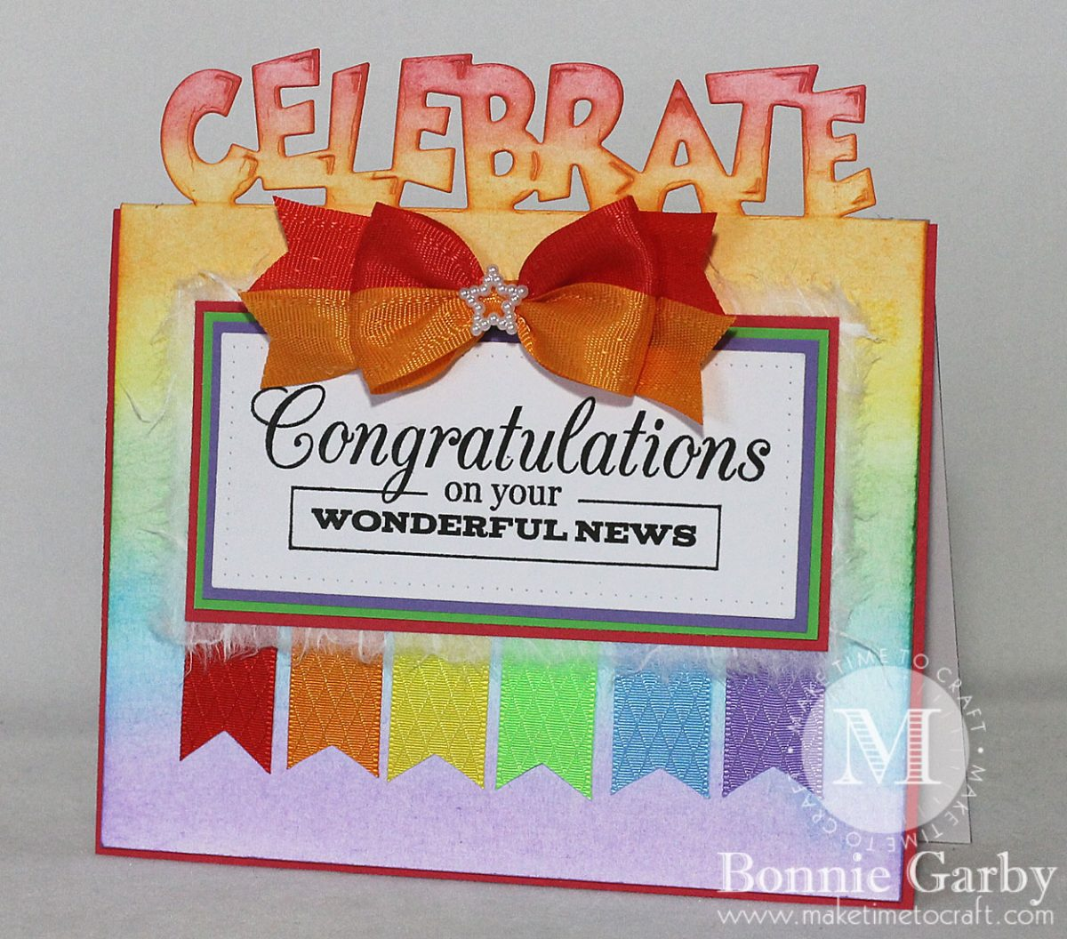 Celebrate Pop Up Card