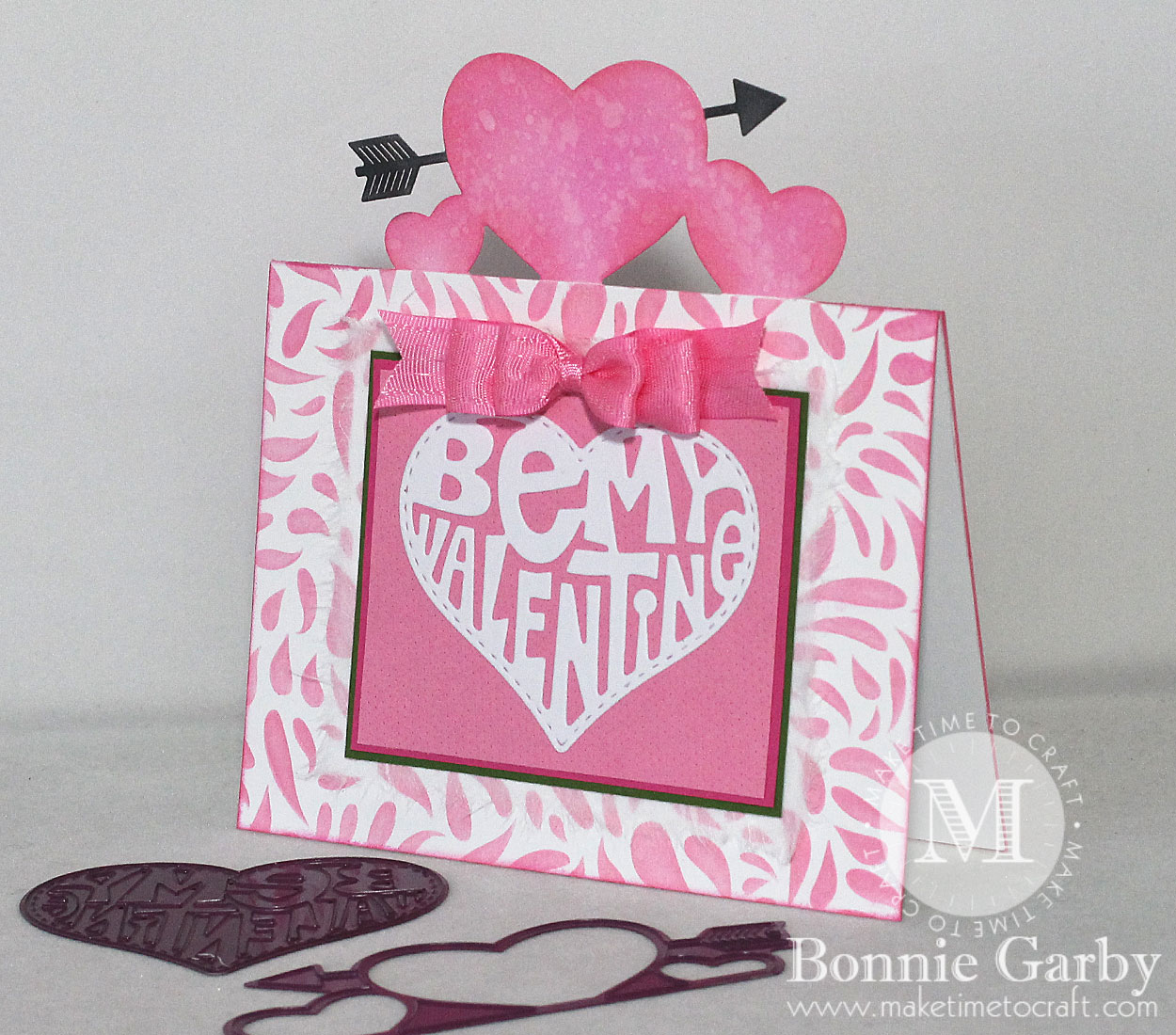 Be My Valentine 3D Pop Up Card