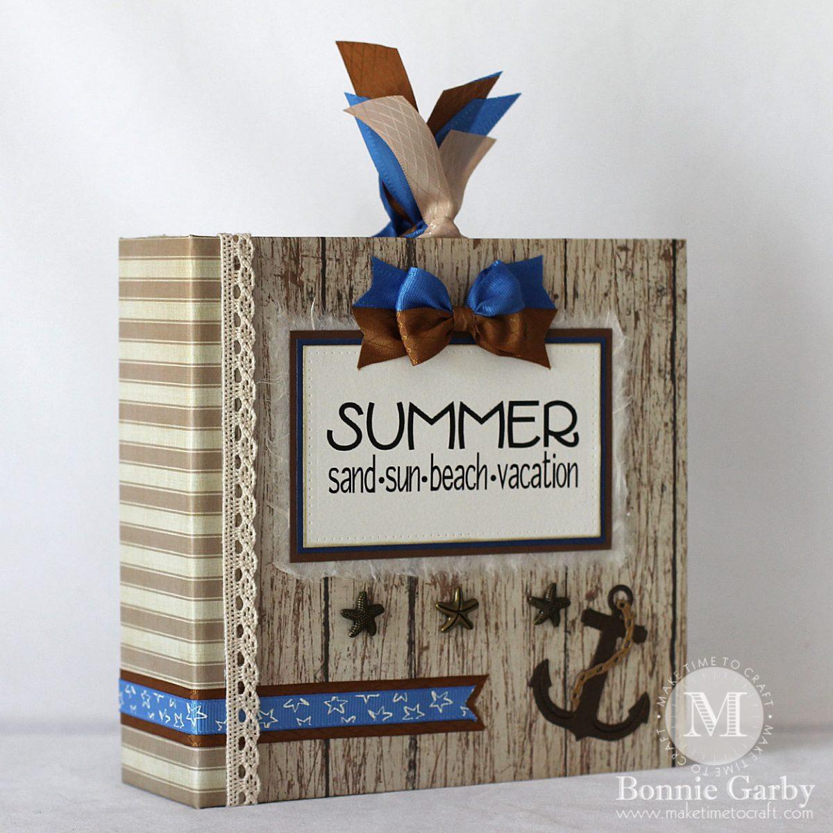 Summer Vacation Themed Mini Album