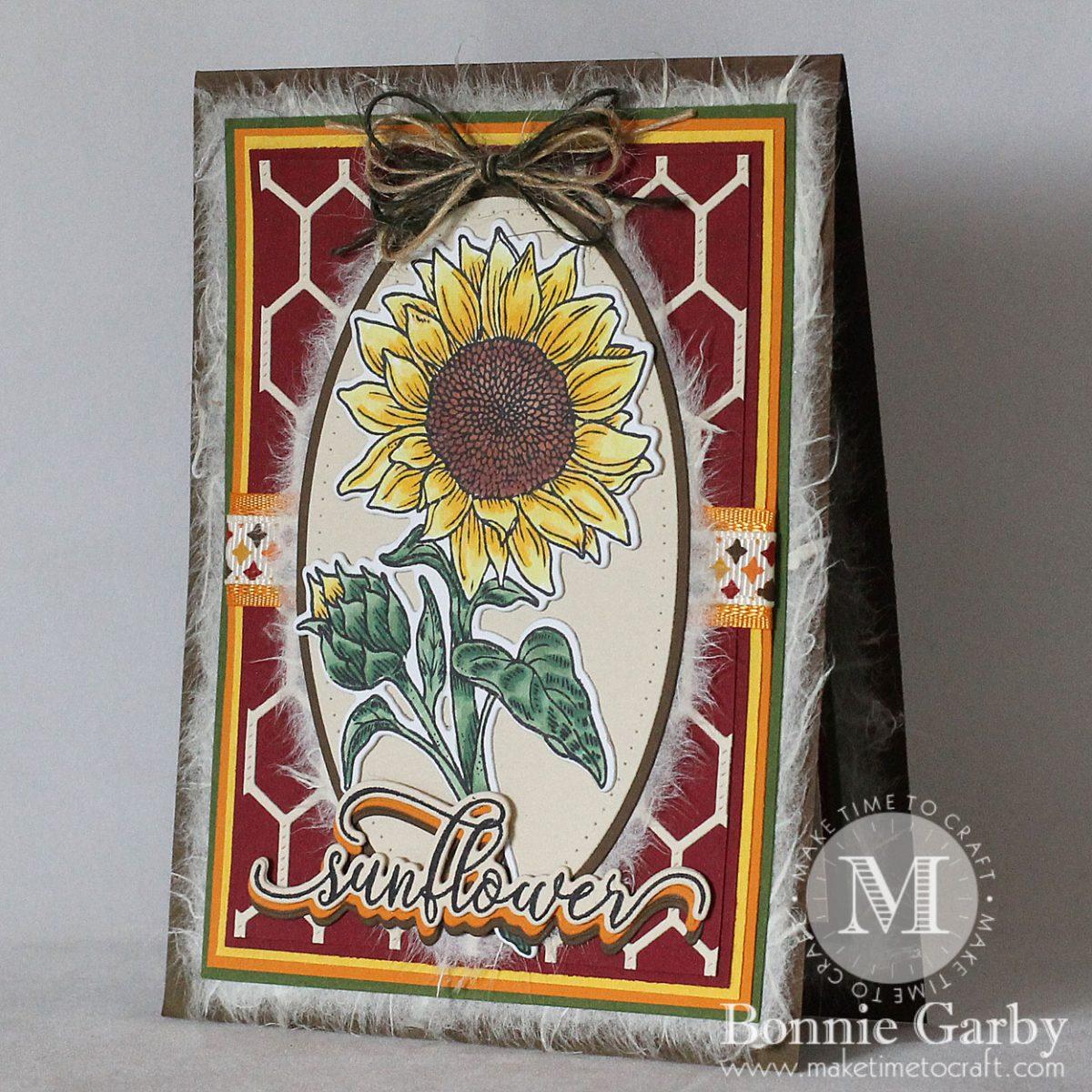 Seasonal Sunflower Card