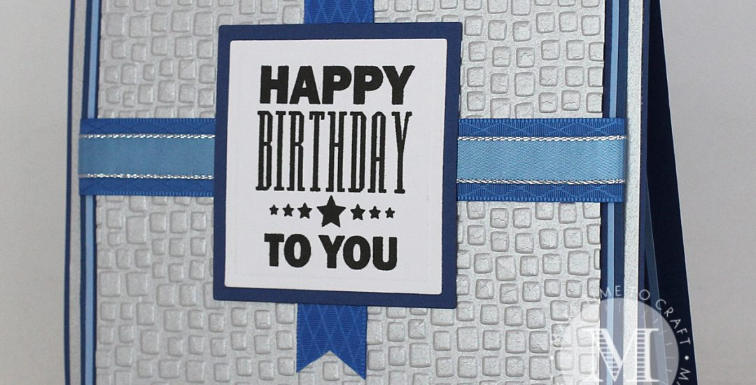 Masculine Themed Birthday Card