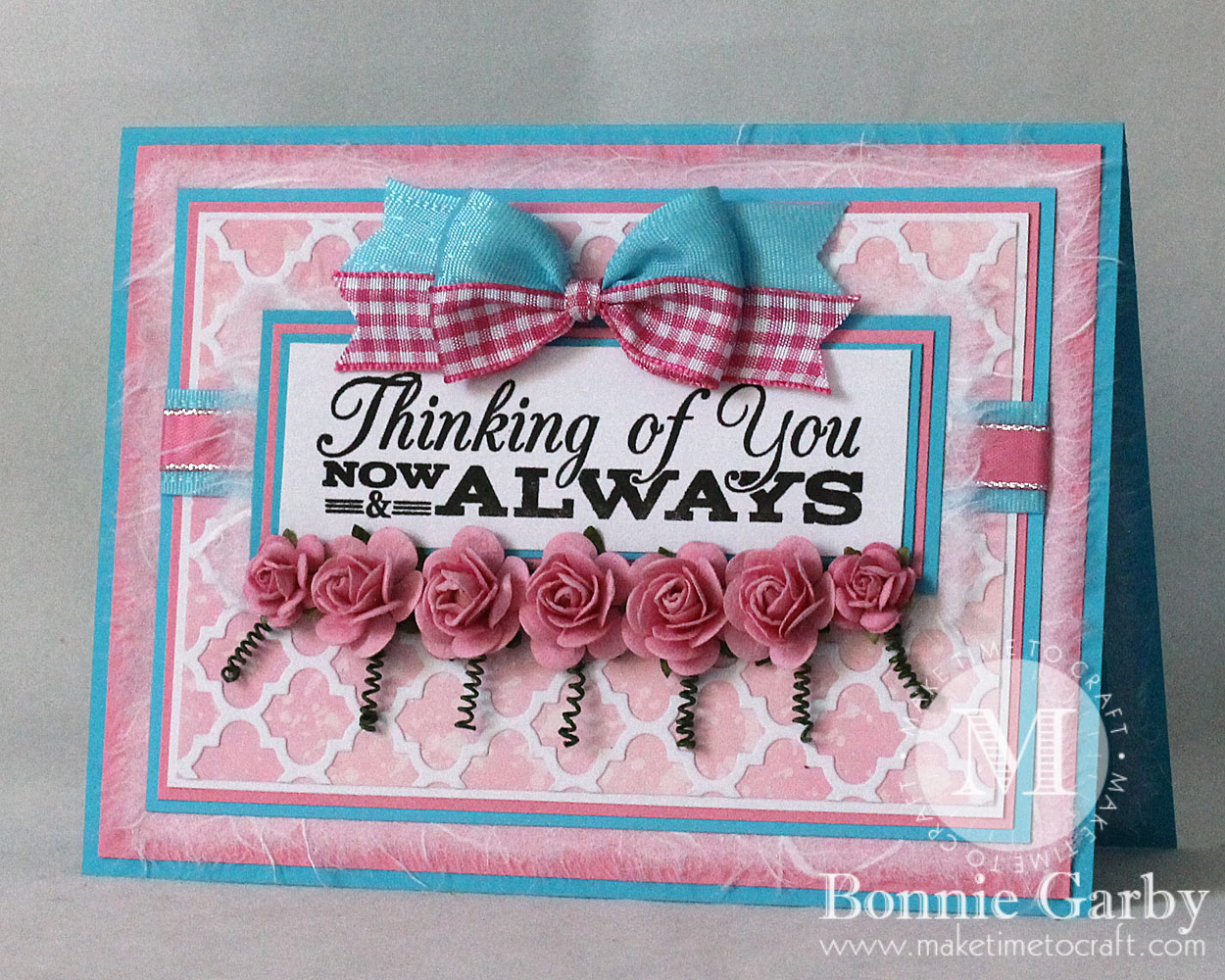 Greeting Card with Ribbon