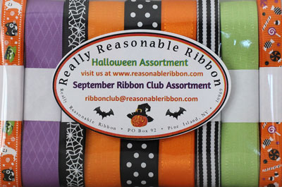 Really Reasonable Ribbon September 2019 Ribbon Club Assortment