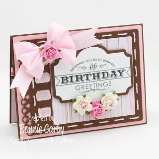 RRR Challenge Time – Pink & Brown and Ribbon Theme