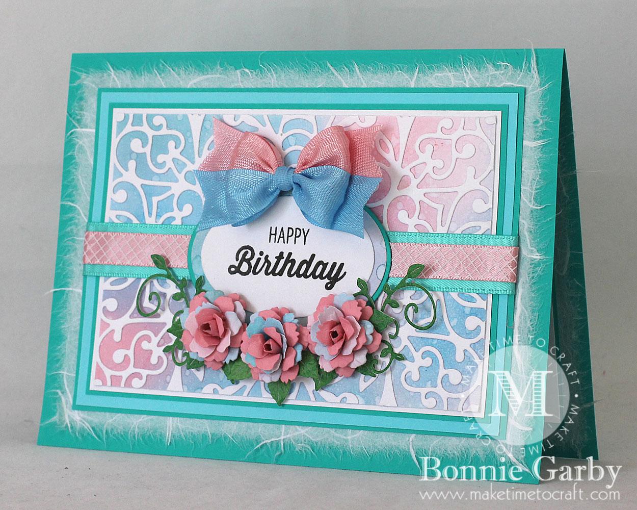 Beautiful Floral Birthday Card