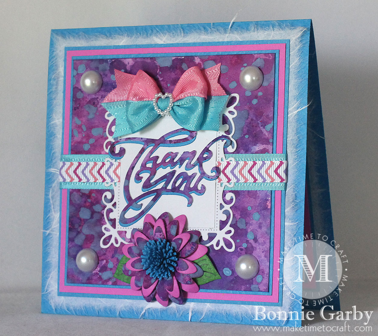 Bright and Colorful Thank You Card