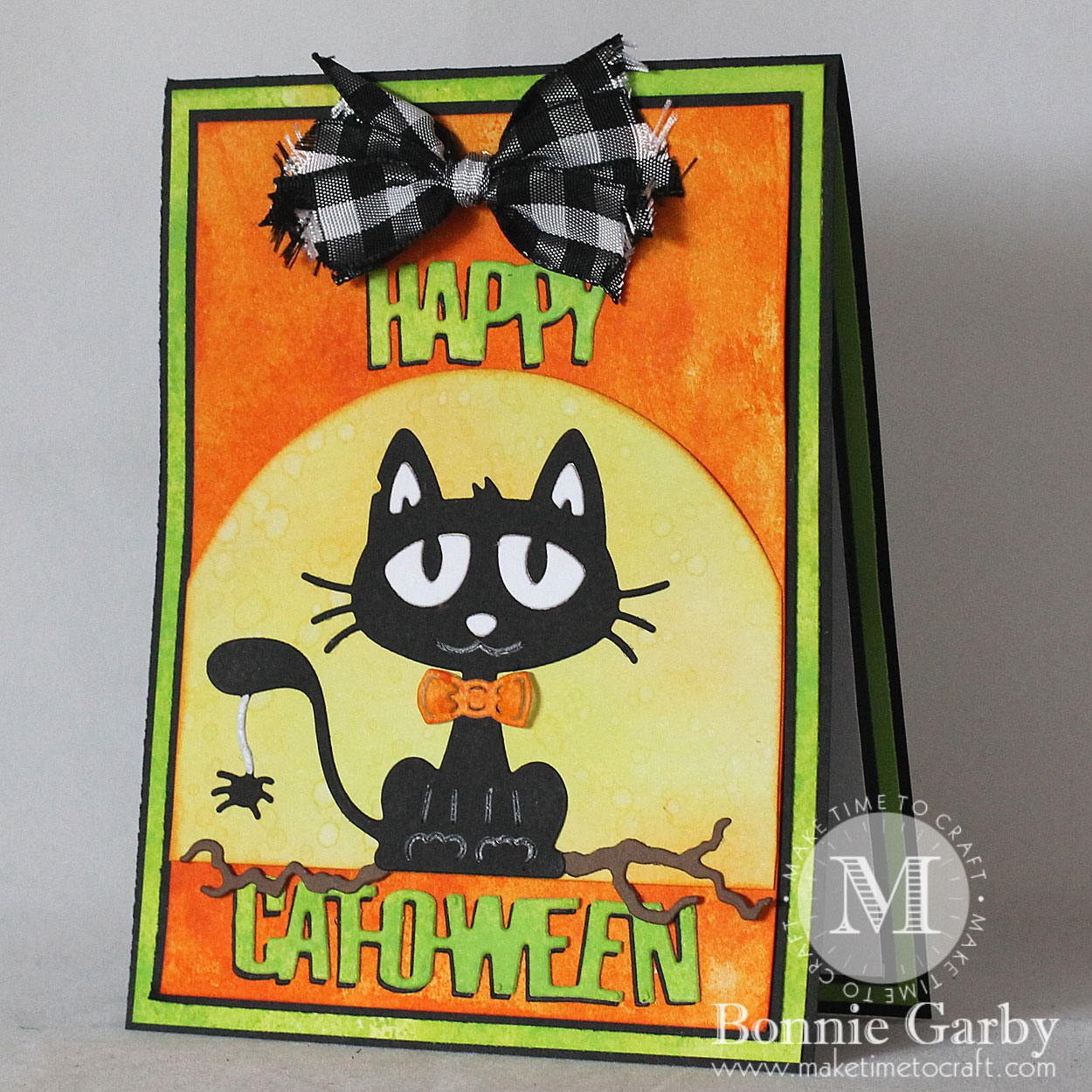 Happy Catoween Card
