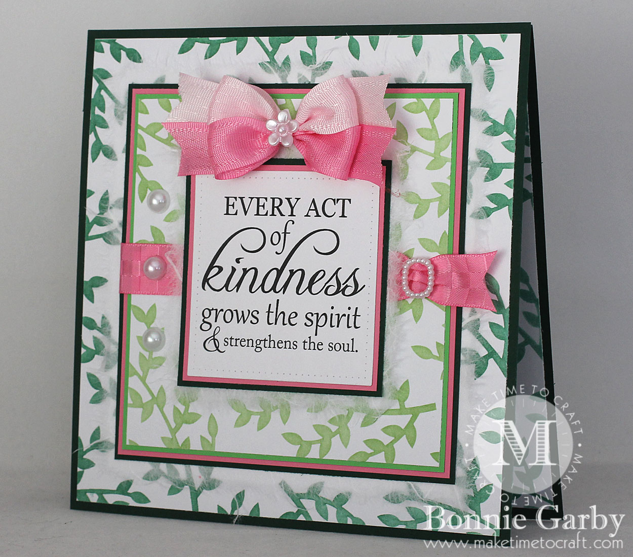 Every Act of Kindness Grows the Spirit