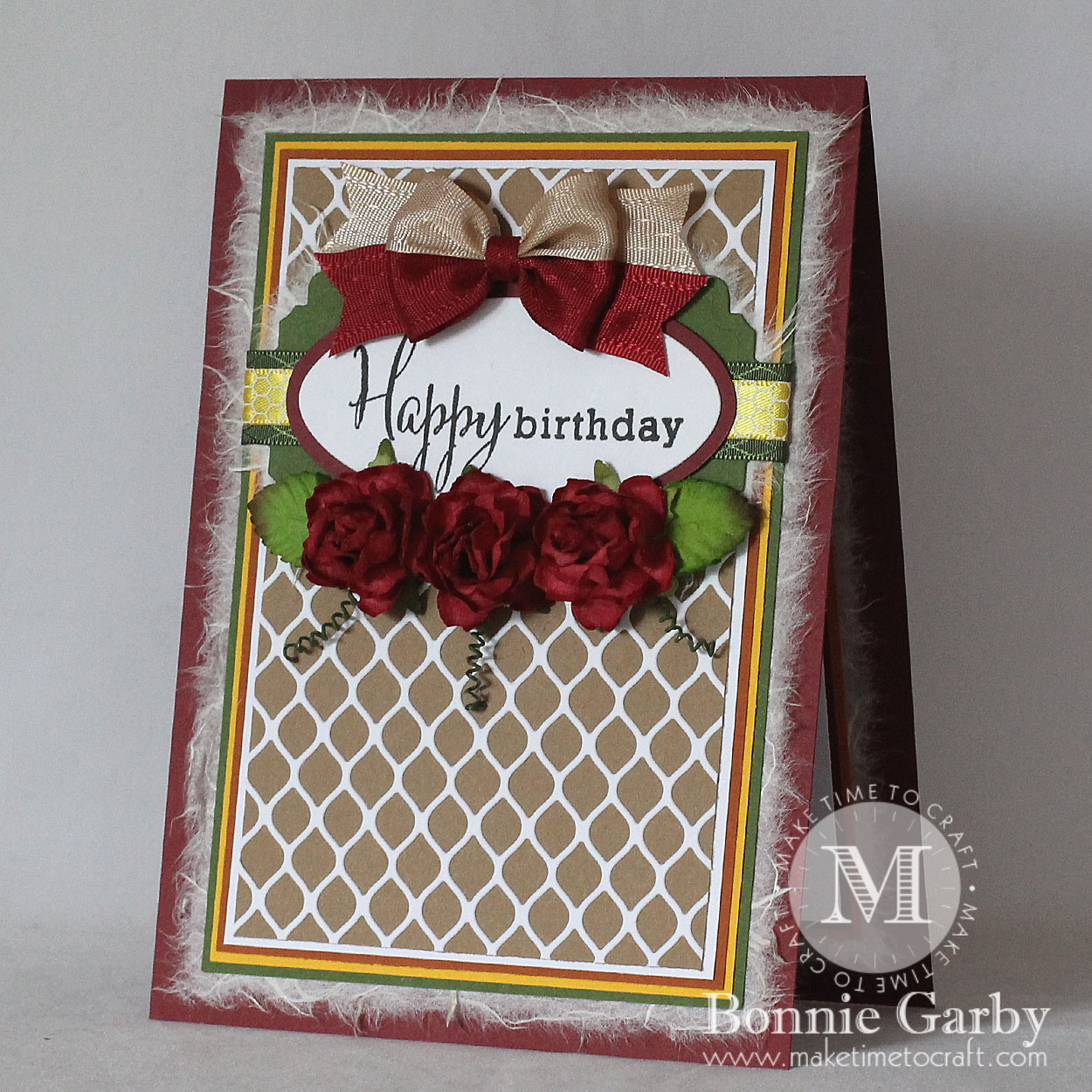 Autumn Birthday Card