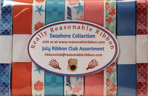Really Reasonable Ribbon July Ribbon Club Assortment