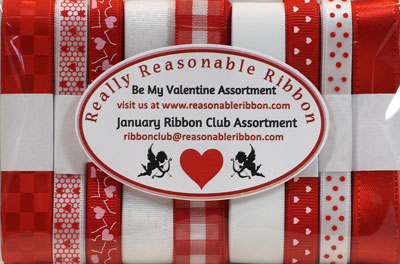 Really Reasonable Ribbon January 2021 Ribbon Club Assortment