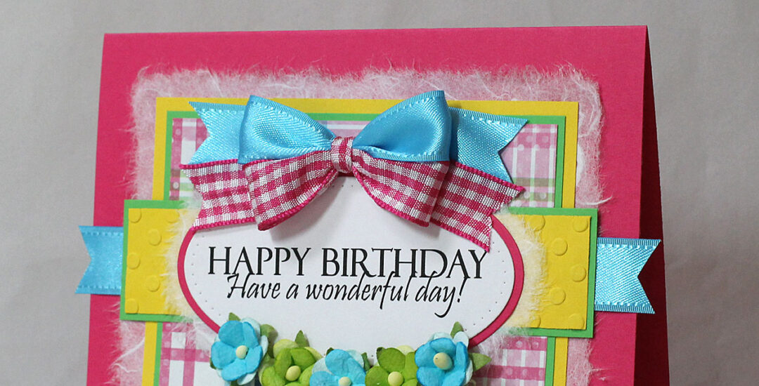 Bright and Colorful Birthday Card
