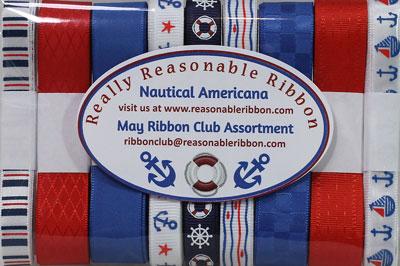 Really Reasonable Ribbon May 2021 Ribbon Club Assortment